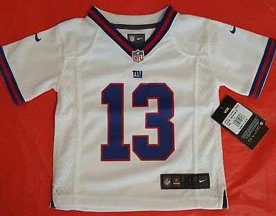 NFL New York Giants Odell Beckham Jr Nike Vapor Game Jersey Toddler Size 2T ab82453b6