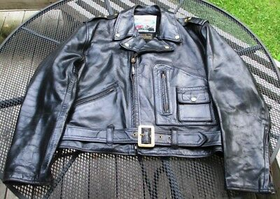 various colors online store shop for luxury MEN'S AERO LEATHERS Motorcycle Jacket, Custom Black Leather Size 46/XL