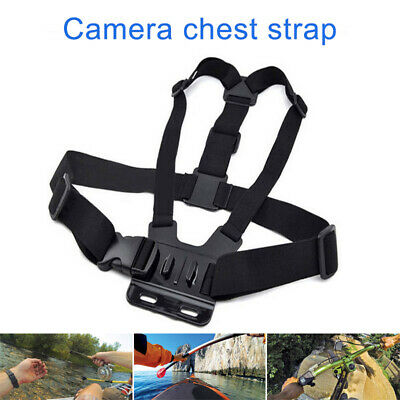 Adjustable Elastic Chest Strap Harness Mount for GoPro HD Camera Hero 1 2 3