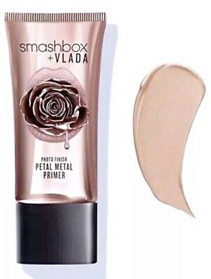 SMASHBOX VLADA Photo Finish Petal Metal Primer 1 OZ NIB - FULL SIZE!❤️