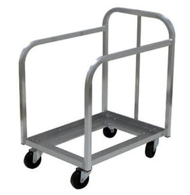 Advance Tabco PD-1-X Aluminum Bun Pan Dolly Truck Holds 60 Full Size Pans
