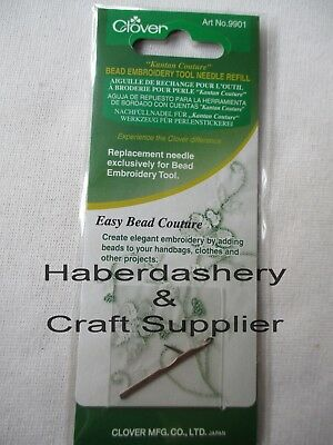 Clover Embroidery Stitching Tool Needle Refill 9901