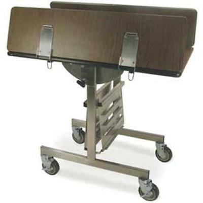 """Lakeside 74410S 43""""Wx36""""Dx31""""H Tri-fold Simplicity Series Room Service Table"""