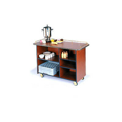 """Lakeside 68200 25-1/2""""Dx57-1/2""""Wx36-3/4""""H Solid Wood Enclosed Service Cart"""