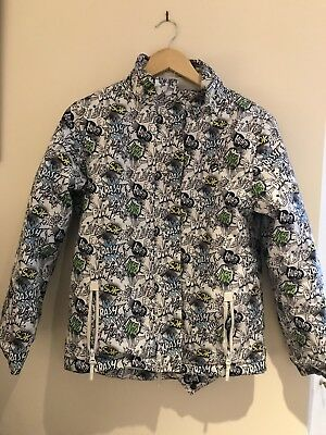Size 14 Boys Waterproof Warm Ski Snow Jacket - Worn once - Great used condition