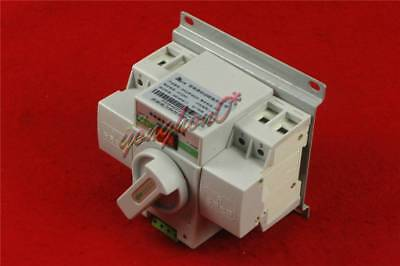 Q3R-63 Intelligent Mini 63A 3-Phase Dual Power Automatic Transfer Switch New