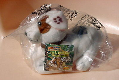 New 1999 Wishbone Jack Russell Terrier Jack & The Beanstalk Denny's Promo