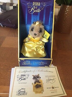 Ayana as Belle Beauty and the Beast Meerkat Limited Edition