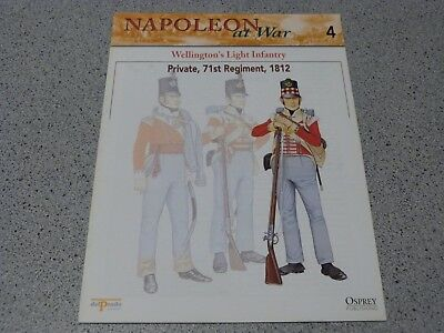 Osprey Del Prado NAPOLEON AT WAR Issue 4 Wellington's Light Infantry