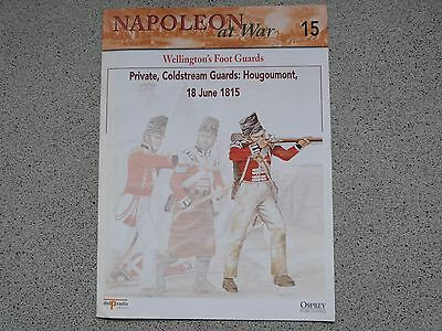 Osprey Del Prado NAPOLEON AT WAR Issue 15 Wellington's Foot Guards