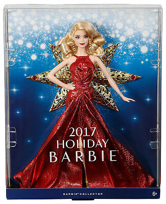 Barbie Collector 2017 Holiday Barbie Doll - Brand New