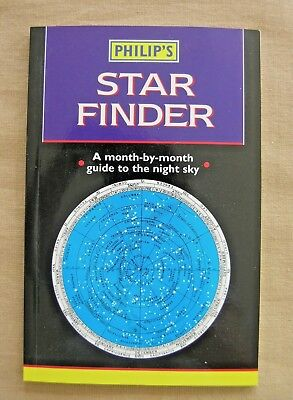 Philip's 'star Finder'  A Month-By-Month Guide To The Night Sky  Paperback 1998