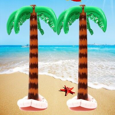 90cm Aufblasbare Palme Palm tree Inflatable Strandzubehör Sommer Party Dekor