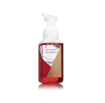 Bath & Body Works Winter Sangria Gentle Foaming Hand Soap With Coconut Oil New