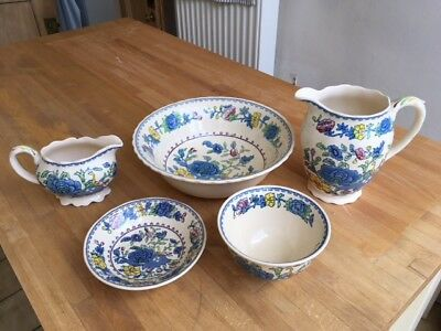 Mason's Ironstone Regency, five items (three in perfect condition)