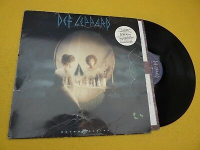 Def Leppard ‎– Retro Active (VG+/VG) Spain edit 1993 inner  LP ç