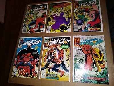 the AMAZING Spider-Man # 246-251 Excellent condition