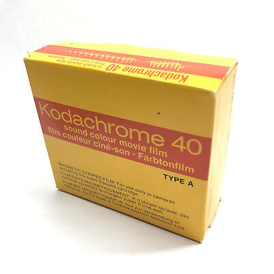 Kodak Kodachrome 40 Super 8 Sound Movie Film Kassette Cartridge Lomo FRIDGED!