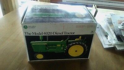 john deere 4020 precision toy tractor