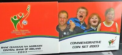 "IRLAND KMS 2003 ""SPECIAL OLYMPICS WORLD GAMES"", OVP, incl. 5 Euro Sondermünze"