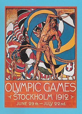 Sports  Postcard  -  The  Sporting  Postcard  Co.   - Olympic  Games  1912