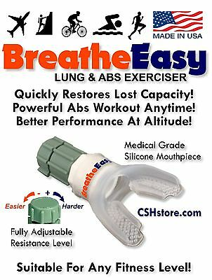 Respiratory Aid & Lung Exerciser  BreatheEasy is the BEST Value! Helps Breathing