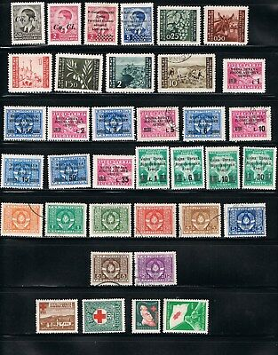 Yugoslavian BOB Stamps  - offical and occ.- MH/used