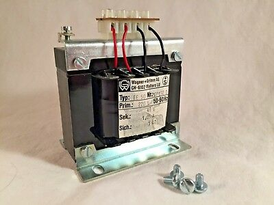 Wagner+Grimm AG CH-6102 Transformer Type EE 50 220VAC in - 24V out 50/60Hz
