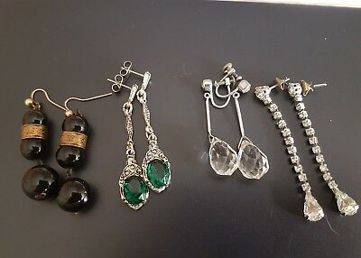 Art Deco Collection Of Earrings
