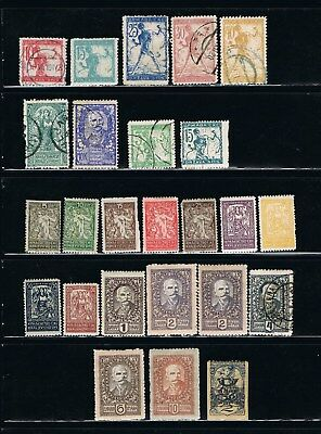 Yugoslavian Stamps - 1918 - Scotts: 3L1//3L55 - MLH/Unused