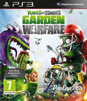 Plants Vs Zombies Garden Warfare Ps3 (Leer Anuncio)