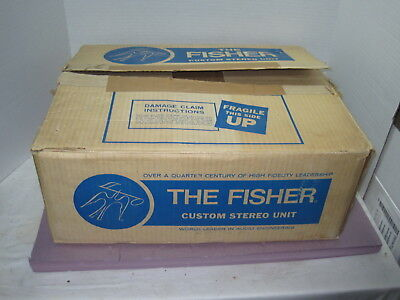 Uncommon Fisher Model 440-T AM-FM Stereo Receiver==Orig. Box!