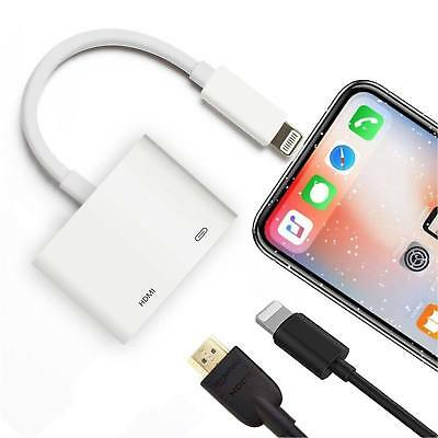 Lightning Zu HDMI Adapter Kabel Digital AV HDTV Für iPad & iPhone 6 8 7 Plus X