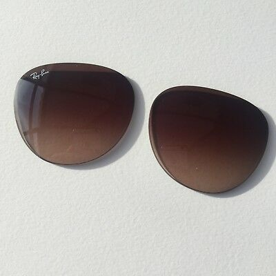 New 100% Official Ray Ban Erika RB4171 (54x18) lenses in Brown Gradient