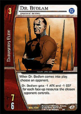 VS System: Dr. Bedlam, Psionic Being - Foil [Moderately Played] DC Green Lantern