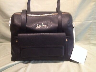 Ju Ju Be Wherever Weekender w/ Changing Pad Noir (Black) NWT  Ever Collection