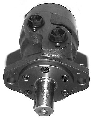 Hydraulic Motor 250 cc/rev Straight Keyed Shaft 25 mm Side Ports G1/2