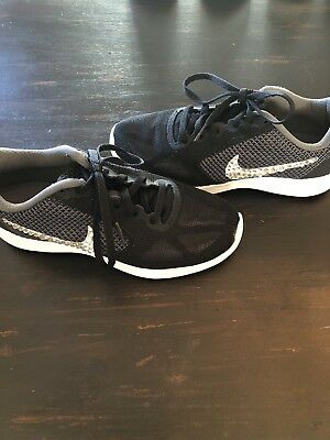 NIKE DUAL FUSION X2 Womens Running Training Shoes Size 6.5 Black ... 2f5979333a81