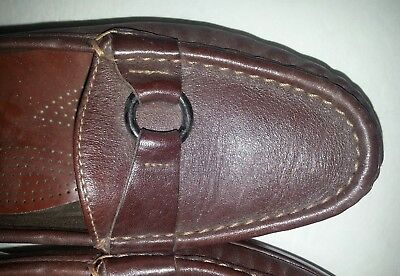 SAS Women's Brown Casual Slip on Loafer size 7 M Made in USA
