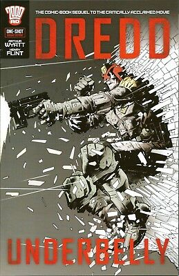 Dredd Underbelly One-Shot / Hairsine Zbox Exclusive Cover / 2000Ad / 2015 / N/m