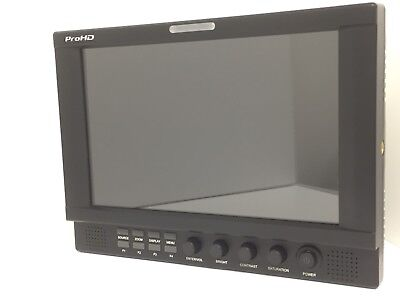 JVC DT-X92H ProHD 9 INCH HD LCD PRO FIELD MONITOR w/ ANTON BAUER MOUNTING PLATE