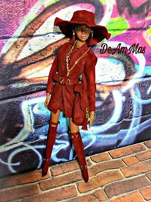 DeAmMas Handmade Doll Clothes and Accessories-Fashion Royalty,Barbie Ooak