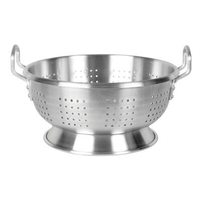 Thunder Group ALHDCO101 12 Quart Aluminum Colander with Footed Base