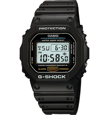 Casio G-Shock Wrist Watch DW-5600E-1V DW5600E-1V Mens Black FREE EXPRESS POST!!