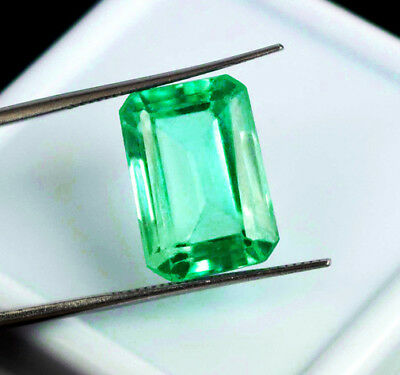 0.76 ct Natural Earth Mined Emerald Certified No Reserve