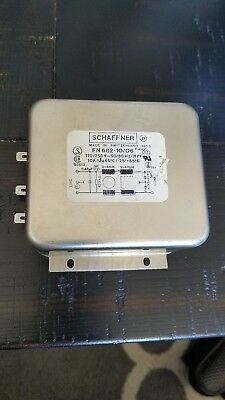 SCHAFFNER Power Line Filter PERFOMANCE 10A FILTER 2-STAGE Part # FN 682-10/06
