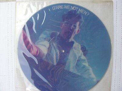 "Devo ""Are We Not Men"" Picture Disc, Original,new, never played,"