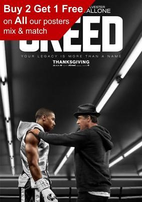 Creed Movie Poster A5 A4 A3 A2 A1