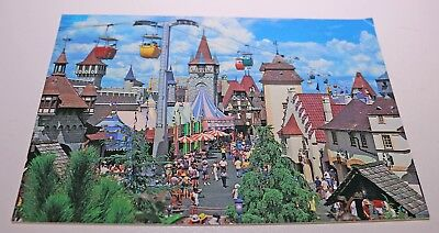 Vintage Walt Disney World Skyway Fantasyland Postcard  Ephemera Card Posted
