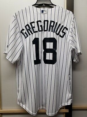 best website ad5c1 2d1a3 NWT Didi Gregorius New York Yankees Majestic Cool Base Men's Sewn Jerseys